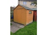 Garden Shed (7'x6') in excellent condition