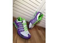 Nike Shox size 10 - Purple, White & Lime