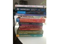 Anatomy and Sports Therapy Books
