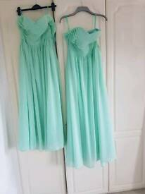 Bridesmaid / prom dress / ball gown size 10 and 12