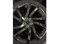 "20"" INCH BLACK RANGE LAND ROVER DISCOVERY 5/4 HSE 4X LANDMARK GENUINE ALLOY WHEELS 5011 511 ALLOYS"