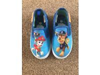 Paw Patrol shoes size 6