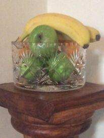 Beautiful Tutbury Glass Bowl