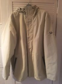Men's Fred Perry jacket in size xl
