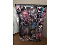 Monster High Doll Viperine Gorgon Frights Camera Action BNIB