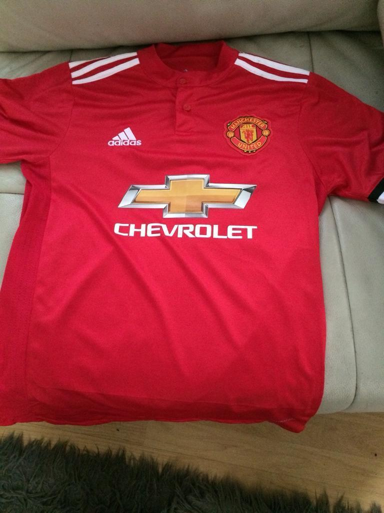 Manchester United official 2017/2018 T-shirt