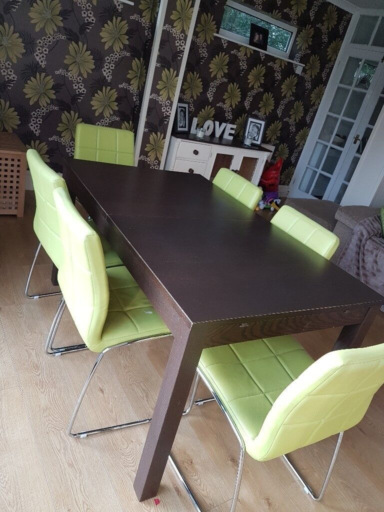 Dining Table And 6 Chairs Nottingham