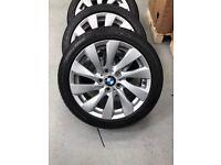 4 BMW 1 Series 17 inch alloys