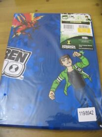 "Nursery curtains 'Ben 10' & Me To You' 66"" x 54"""