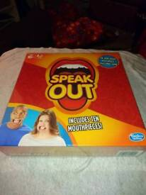 SPEAK OUT THE MOUTH PIECE GAME BRAND NEW BY HASBRO