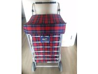 4 Wheel - Shopping Trolley to sale at discount price + 1 free shopping trolley cover