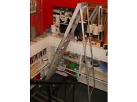 8 Ft Set of Metal Steps Step Ladder