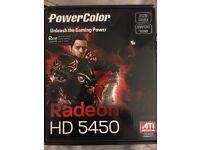 Graphic card Radeon HD5450