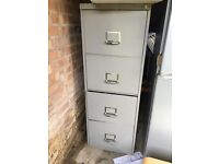 Vintage grey filing cabinet £35 ono