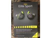 Jabra Elite sport wireless earphones / headphones BNIB