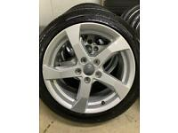 """Genuine 17"""" Audi A3 alloy wheels and tyres Fit Audi A3-Golf-Leon-Skoda"""