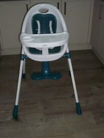 Mamas & Papas Baby high chair/low chair used 3 times for visiting child.