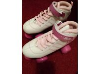 Size 4 roller skates boots