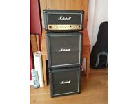 Marshall Amp and x2 Speakers incl leads