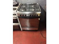nice silver indesit gas cooker in excellent condition in full working order
