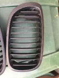 BMW e46 coupe facelift grills