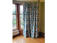 Large curtains for bay window