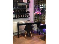 Nail bar to rent within a very busy city centre salon