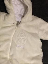 Baby snow suit next 3-6 months