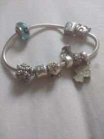 Real Pandora with charms