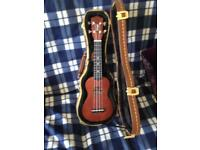 Soprano Ukulele with case £50