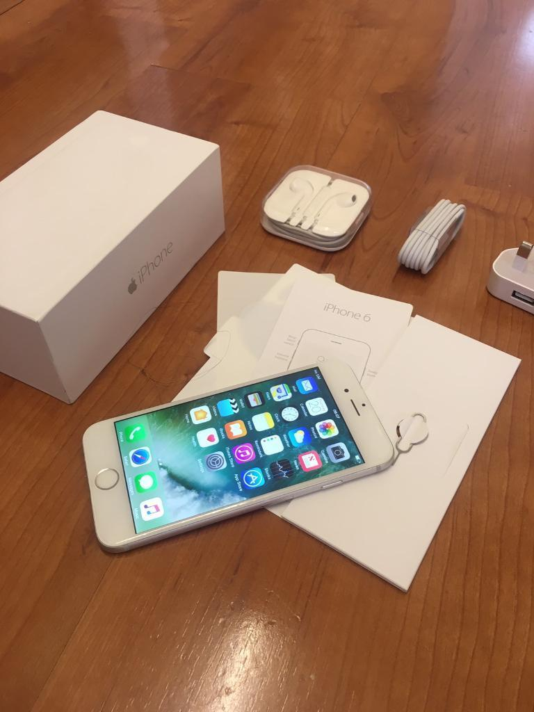 iPhone 6 16GB Unlocked Brand New Condition With Original BoxAccessoriesin Nottingham City Centre, NottinghamshireGumtree - iPhone 6 16GB Unlocked to all networks, iPhone is in immaculate condition as Ive taken great care of it, only 1 owner as Ive had it since new! Everything works perfectly fine! Comes with original box, USB cable, plug, manuals, screen guard & cases!...