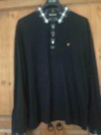 Lyle&scott Long sleeved polo