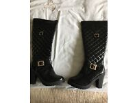 Black Patent Ladies Boots