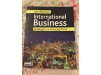 International Business: Challenges in a Changing World by Janet Morrison (2009) - Paperback