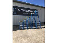 Fibre Glass Step Ladders