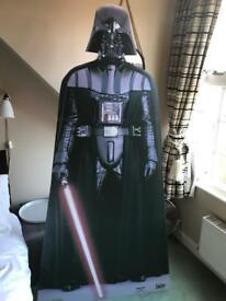 Star Wars Darth Vadar life size card board cut out