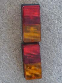 2x trailer lights, brand new