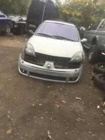 Breaking 1.2 Renault Clio half leather