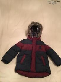 Boys Toddler Winter Coat 18-24 Months