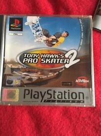 PS1 TONY HAWKS PRO SKATER 2