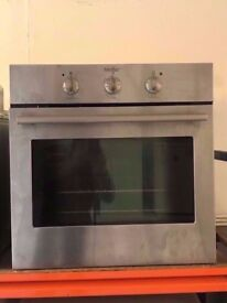 MOFFAT built in electric oven and grill ,SILVER