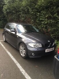 BMW 1 series in grey, £1,500