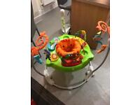 Fisher Price roaring rainforest jumperoo in excellent condition.