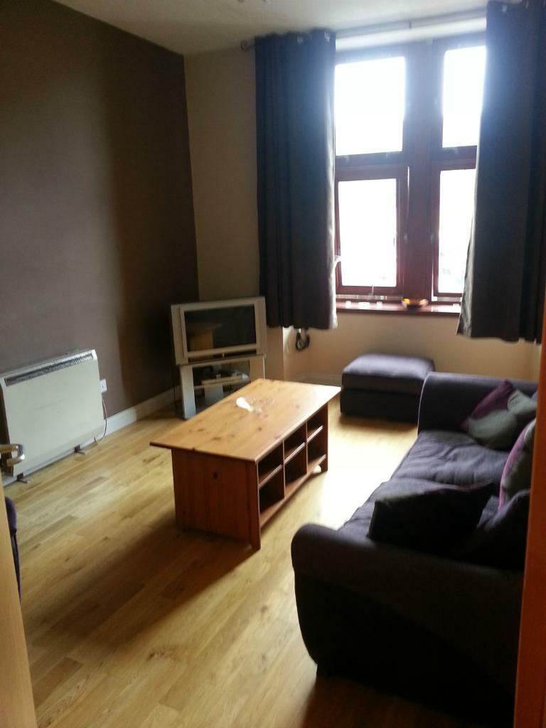 1 bed, fully furnished first floor flat, Springburn