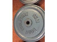 100kg 10x10kg Iron weights! Bargain. Lots of different sizes available