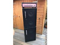 TC Electronic BH500 Head and 2x BC210 Cabs