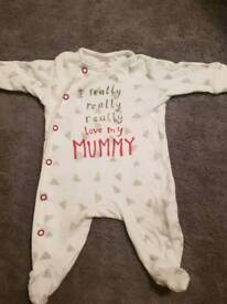 Up to 1 month next mummy baby grow