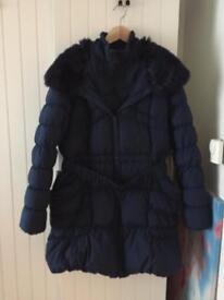 Winter coat blue 18/20