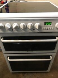 Hotpoint 60 cm wide new model fully working electric ceramic plate cooker