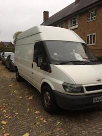Ford transit LWB Hi top clean and reliable